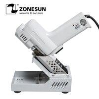 ZONESUN 1Pcs S 993 Electric Vacuum Desoldering Pump Electric absorb gun Solder Sucker 220V MT 996 Upgrade