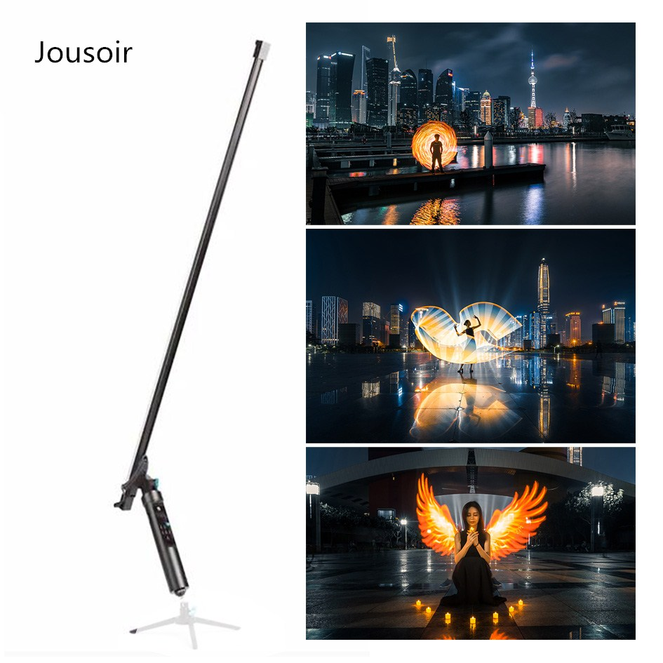 144 LEDs Light The All-In-One Light  Remote Magic Light Flash Plot Stick Painting Tool Animation Blink For Photography   CD30