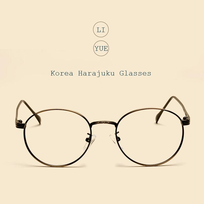 4555c8e5c3 Liyue vintage Gafas claro óptico ojo Gafas mujeres miopía gafas Marcos  marca prescripción Gafas Marcos s gafas