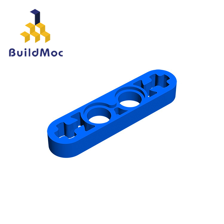 BuildMOC Compatible Assembles Particles 32449 1x4 For Building Blocks Parts DIY LOGO Educational Tech Parts Toys