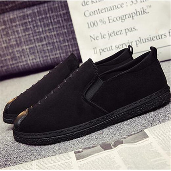 MVP BOY  Men Casual Shoes Cow Suede Leather Loafers Leather Driving Moccasins Slip On Shoes Men Comfortable And Breathable