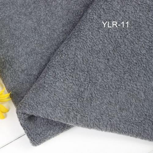 f9b78e5549 Grey Soft Polar Fleece Fabric Tissues Gray Garment Materials Sleep Coat  Fleece Fabrics Blanket Winter Scarf
