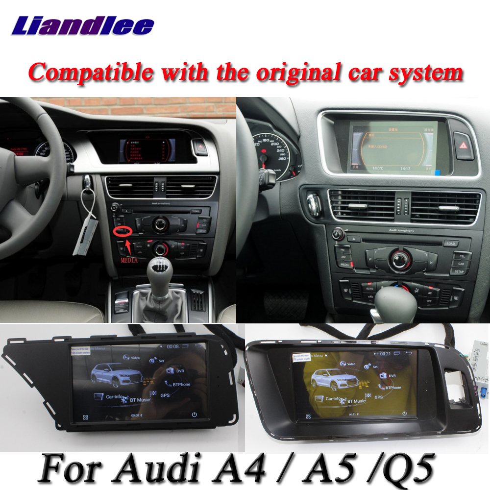 Liandlee Car Android System For Audi A4 / A5 / Q5 2009