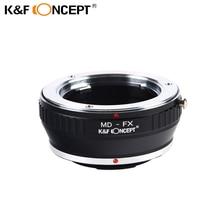 K & F концепция MD-FX Переходники объективов Minolta MD Крепление объектива для Fujifilm Fuji X-Pro1 X Pro 1 Камера переходное кольцо