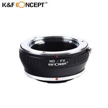 K&F CONCEPT MD-FX Lens Adapter Minolta MD Mount lens for Fujifilm Fuji X-Pro1 X Pro 1 Camera Adapter Ring