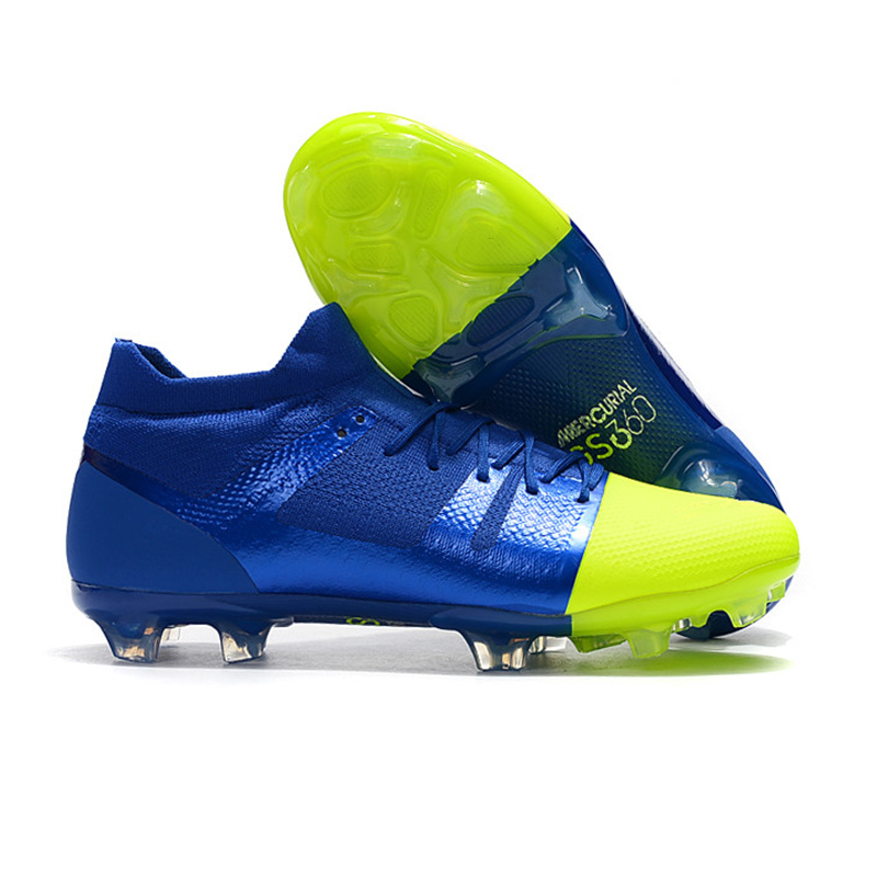 fefd1c55 Speedmad Football Boots 2019 High Ankle Greenspeed 360 FG Soccer Cleats