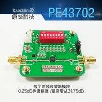 PE43702 цифровой радиочастотный аттенюатор модуль 0 25 дБ 31 75 дБ шаг точности 9K ~ 4GHz