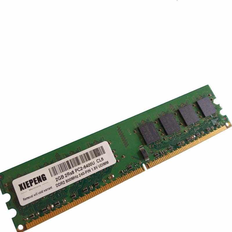 1GB 2GB DDR2 533 667 800Mhz PC2-4200//5300//6400U DIMM 240Pin Desktop Memory RAM