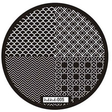Pattern Nail Art Image Stamp Stamping Plates Manicure Template  6616