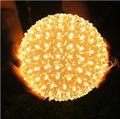 12cm 25cm 220V change color RGB 200leds 50 LED ball Colorful Christmas Light Party xmas Decoration LED Peach blossom ball lights