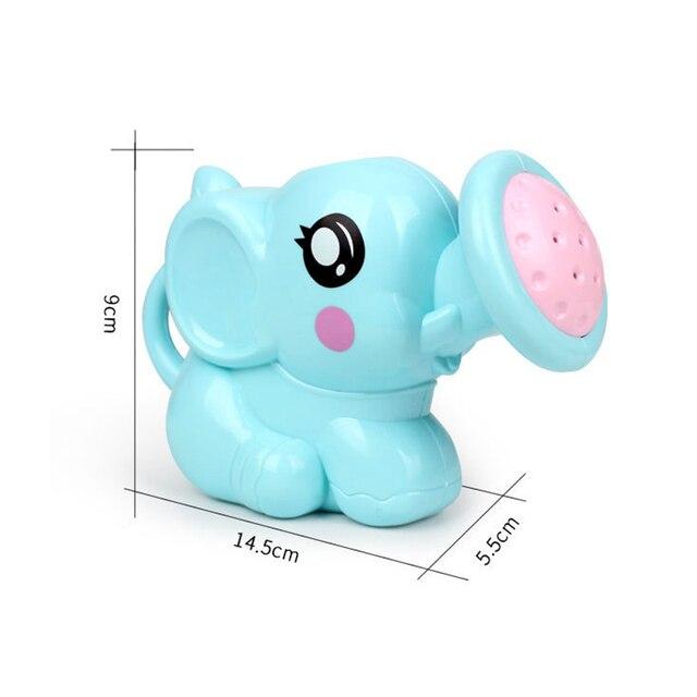 1PC Cute Baby Bath Elephant Toys Shower Kid's Water Tub Bathroom Playing Toy Gifts Hildren Bath Accessories 5