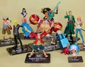 One piece manga model toys, ONE PIECE -ZERO Animation model toy. Classic cartoon figures, Gifts for children.