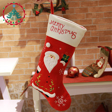 Christmas Stockings Dinnerware Cover Xmas tree decorations Christmas Decorations Festival Party Ornament