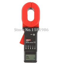 UNI-T UT276A Auto Range Digital Clamp Earth Ground Resistance Testers Clamp Meters Ohmmeter w/ RS-232 Interface Megohmmeter uni t ut220 2000a digital clamp meters measure multimeters auto range data hold lcd backlight resistance meters megohmmeter