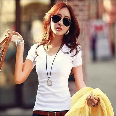 HTB1u tGGFXXXXcAaXXXq6xXFXXXX - Summer Casual T Shirt Women Tops Fashion Slim Female Short-Sleeve