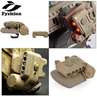 Hunting Element HELMET LIGHT SET GEN 2 Softair Military White Red Ir Led Tactical Weapon Flashlights Airsoft