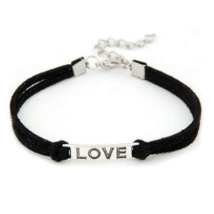 Bracelets For Women Ladies Men Love Handmade Alloy Rope Bracelet Gift pulsera hombre браслты мужс pulsera mujer bracelet homme