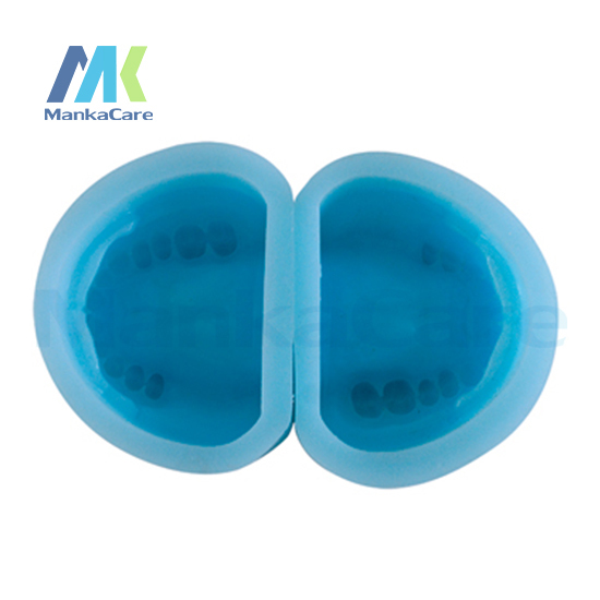 Manka Care - Edentulous Rubber Mould/High quality silicon rubber mould of Partial Edentulous model Oral Model Teeth Tooth Model