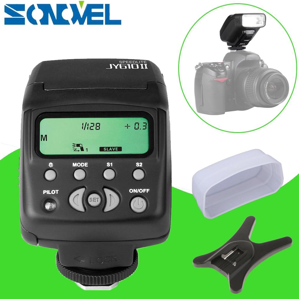 Viltrox JY-610 II JY610 II Flash Speedlite pour Fujifilm X-T10 X-T20 X-T2 X-T1 X-A2 X-A3 X-PRO2 X-PRO1 X-E2 X-E1 X-M1 X100s X100T