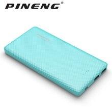 Pineng 10000 мАч Запасные Аккумуляторы для телефонов PN-958 Портативный Батарея мобильный литий-полимерный ультра-тонкий Dual USB для Samsung S7 iPhone7 PN958 Мощность банк