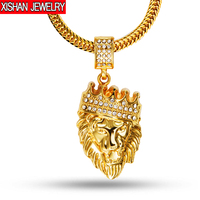 Bling Real 24K Gold Plated Franco Chain Men Colar Hip Hop Male Bar Club Long Hiphop