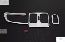For Honda CITY Sedan 2014 2015 2016 ABS Air Vent Outlet Cover Trim 3 pcs / Set