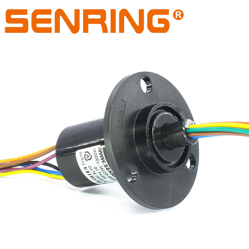 Rotary Joint Slip Ring 8 Circuits 5A met Buitendiameter 22mm Behuizing Plastic Laag Koppel sleepring-in slimme afstandsbediening van Consumentenelektronica op  Groep 1