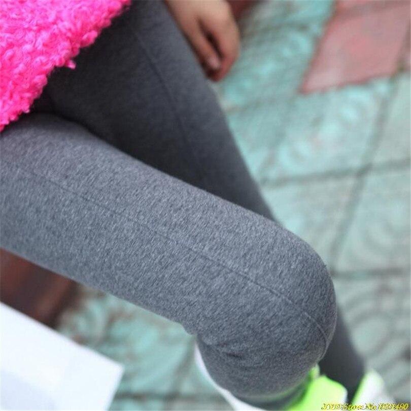 Cuhakci Для женщин Леггинсы для женщин Высокая Талия тренировки Леггинсы для женщин Activewear мягкий тонкий леггинсы серый Брюки для девочек модны...