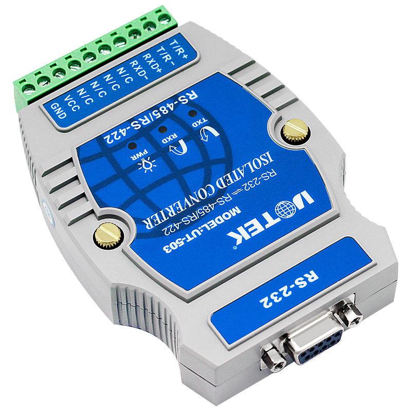 Industrial Automation Data Transmission Industrial RS232 To RS485/RS422 Converter Optoelectronic Isolation