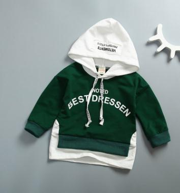 Childrens Clothing 2018 Spring Autumn New Stylish Baby Boys Hooded Sweatshirts New Years Costumes for Girls Kids SY-F173009