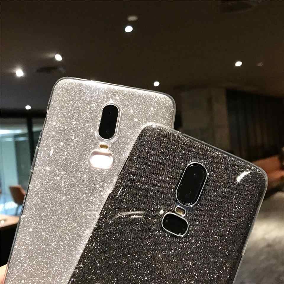 Glitter Case For OnePlus 6T 6 5T 5 Soft Case TPU Funda Sony Z5 C5 C6 Xperia X XA XA1 XA2 XP Ultra XZ XR XZ1 XZ2 Silicone Cover