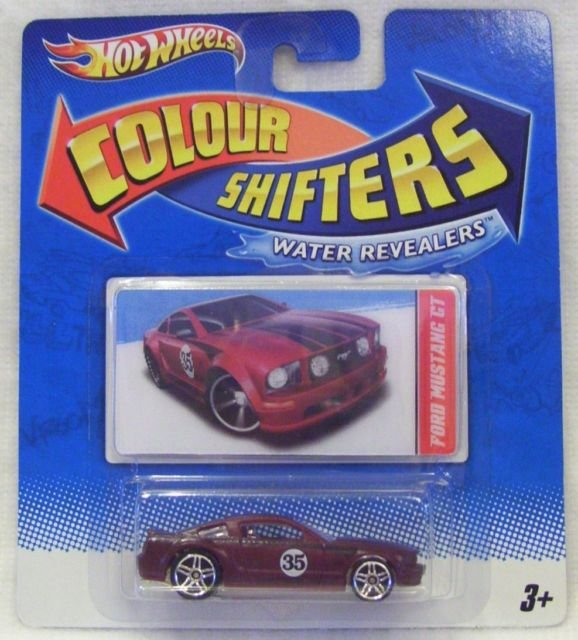 Hot Wheels   Color Shifters   Water Revealers   Ford Mustang GT
