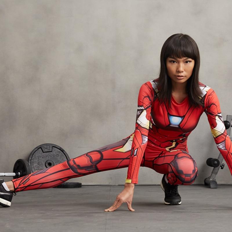Buy women leggings 3d printed pattern for Lady fitness