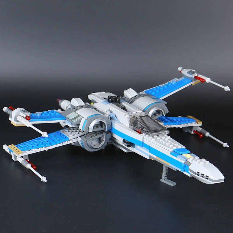 Star Wars First Order Poe's X Wing Fighter Compatible with