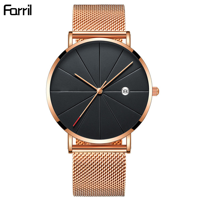 2019 Women's Watches Ultra-thin Rose Gold Bracelet Ladies Watch Women Luxury Wrist Watches Clock Women Relogio Feminino Saat