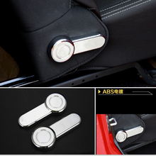 ABS Car Styling Chair Adjust Button Cover Sticker Suitable for Jeep Wrangler Accessories