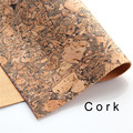 cork fabric Natural Texture cork leather natural Material Kork 65*97cm/25.5*38.1inch Cor-33