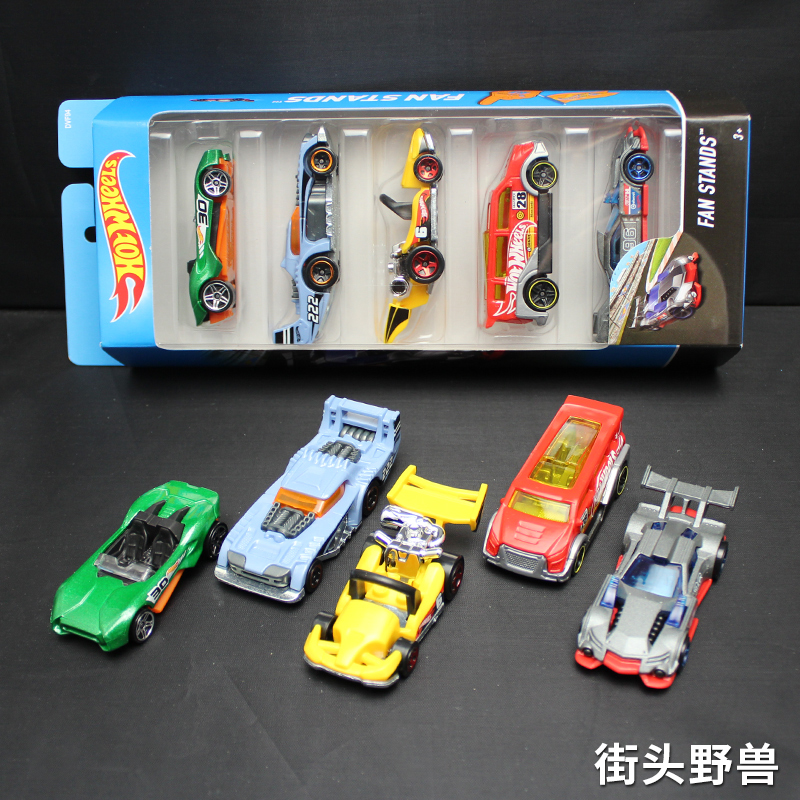 5pcs pack Original Hot Wheels 1 64 Metal Mini Model Car Kids Toys For Children Diecast