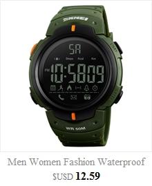 Cool Men's Oversized Design Light Digital Sports Plan Shaped Dial Wrist Watches 2