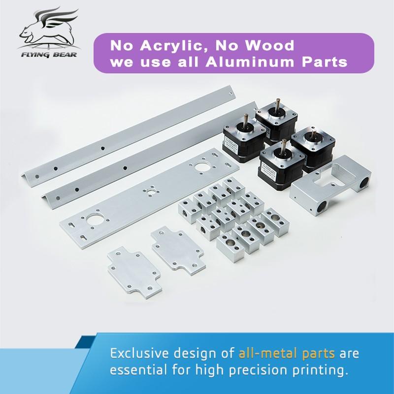 Free shipping Flyingbear P905H DIY 3d Printer kit Full metal Large ...