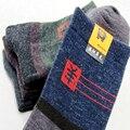 10 Pares/lote Socksmith Masculino de Lã de Inverno Dos Homens Meias de Algodão Novidade Calçado Meias Tripulação