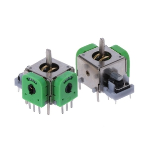 2Pcs 3D Analog Stick Joystick Axis Sensor Module for PS4 for XBOX ONE Controller Dropship(China)