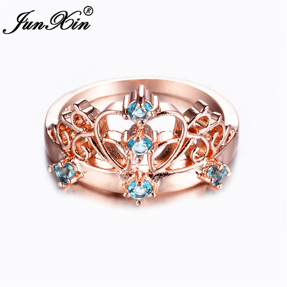 Rose Gold Promise Ring Crown Reviews - Online Shopping Rose Gold ...