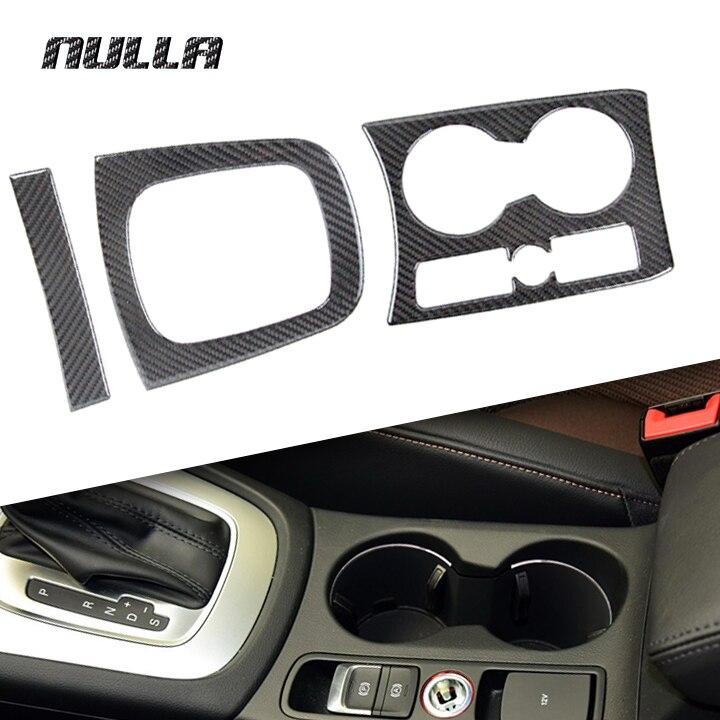 NULLA Carbon Fiber font b Car b font font b Interior b font Gear Shift Panel