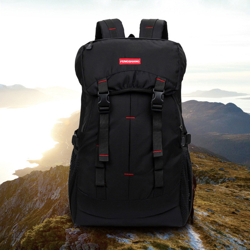50L Camping Hiking Backpacks Bag Nylon Outdoor Travel Bags Backpacks Tactical Sport Climbing Bag with Rain Cover