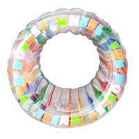 Giant Inflatable Wheel Water Toy Swimming Ring Rainbow Swimming Wheel Tube Raft for Adult Children Inflatable Pool Accessories25