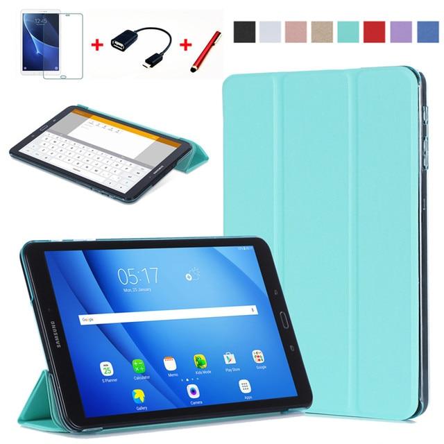 4a8773b1b6200 Case For Samsung Galaxy Tab A a6 10.1 2016 T585 T580 SM-T580 T580N Smart