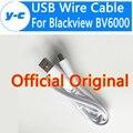 Blackview bv6000 cabo micro usb de alta qualidade 100% original 80 cm fio do carregador usb adapter para blackview bv6000s telefone inteligente