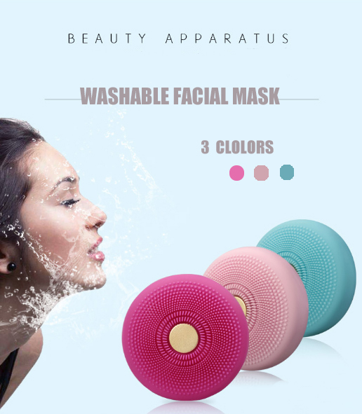 UFO Smart Mask Spa Beauty Tech Revolutionizes Tool LED Thermo Activated Face Mask Device Washing Instrument USB Cleansing Beauty