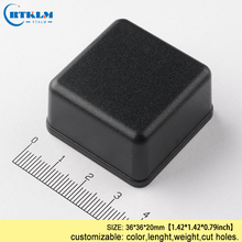 Small plastic box abs enclosure housing speaker electronic project diy junction equipment 36*36*20mm